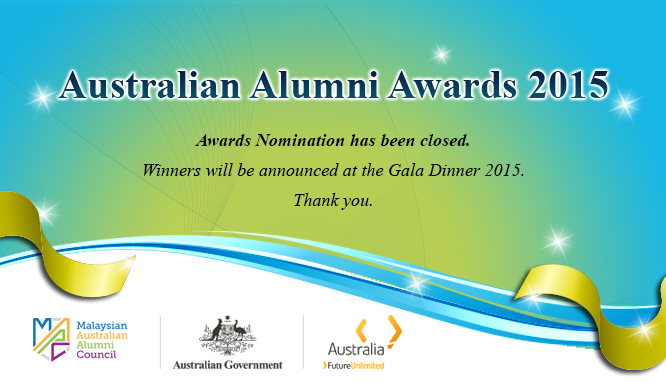 Call for Nomination 2015 - Closed